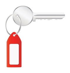 House key with label vector