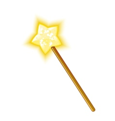 Magic wand eps10 vector