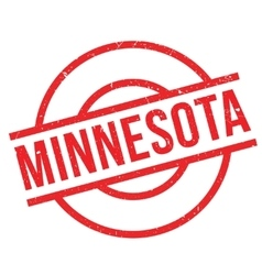 Minnesota rubber stamp vector