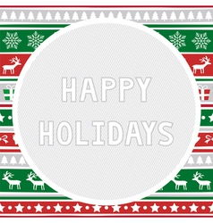 Happy holidays2 vector