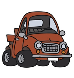 Funny pick-up vector