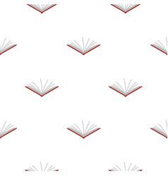 Open tutorial pattern flat vector
