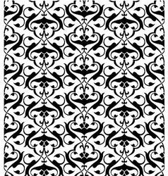 Seamless arabesque pattern vector image