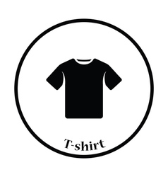 T-shirt icon vector image vector image