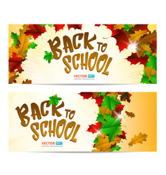 Greeting card or banner to 1 september isolated on vector
