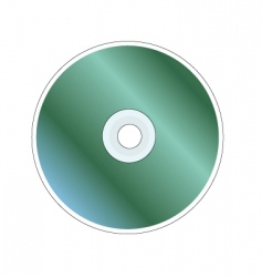 disc vector image vector image