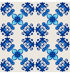 ornamental seamless flourish vector image vector image