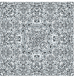 Television noise glitch mandala pattern vector