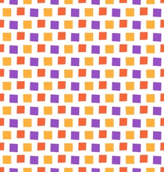 Seamless bright fun abstract mosaic pattern vector