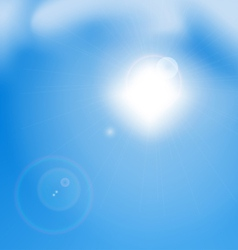 Blue Sky vector image vector image