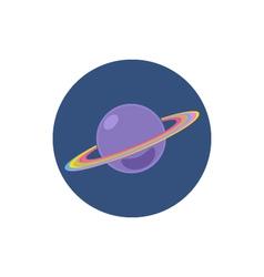Saturn icon planet icon vector