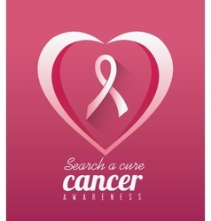 Against breast cancer campaign vector