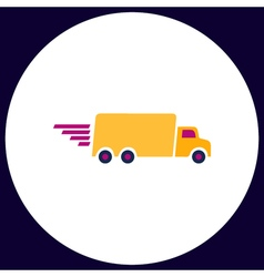 Fast Delivery computer symbol vector image vector image