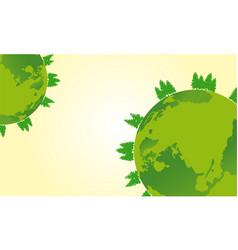 Flat earth day design vector