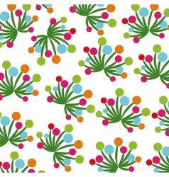 Flower plant decoration isolated icon vector