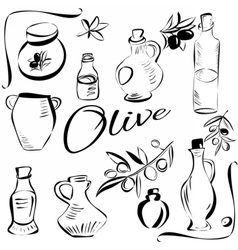 Olivesketch vector