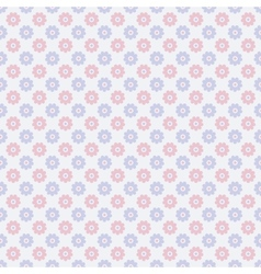 Nice seamless pattern tiling Sweet red blue and vector image