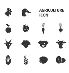 Agriculture icon vector