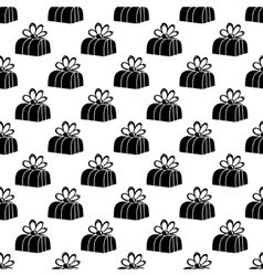 Gift box pattern seamless vector