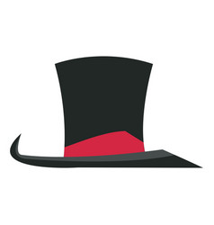 Hat with host entertainment show accessories vector