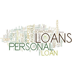 Let the borrower decide with personal loans uk vector