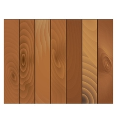 Wooden texture panels vector