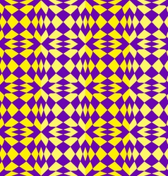 Bright geometric pattern vector image vector image