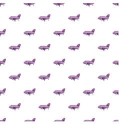 purple plane pattern vector image