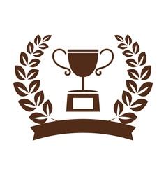 winner symbol set vector image vector image