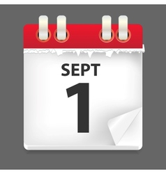 1 september date vector