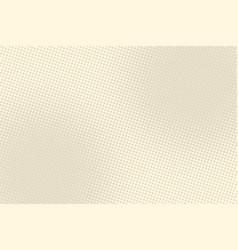 light brown retro pop art background vector image