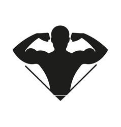 Fitness logo vector