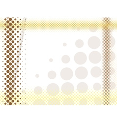 Abstract light halftone background vector
