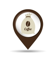 Colombian coffee icon vector