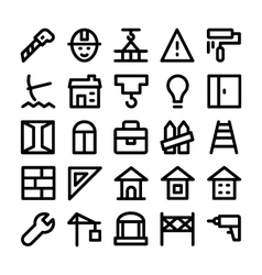 Construction Icons 8 vector image