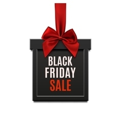 Black friday sale square banner in form of vector