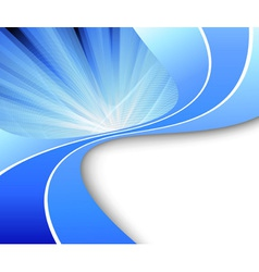 ray abstract background vector image