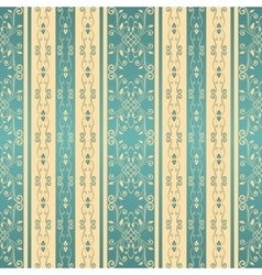 Vintage seamless pattern background vector