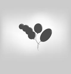 icon air ballon vector image