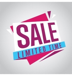 Isolated sale badge label or sticker vector