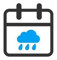 Rainy day icon vector