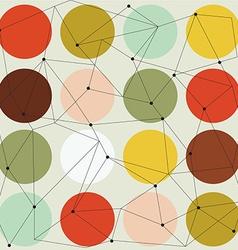 Scandinavian geometric modern seamless pattern vector