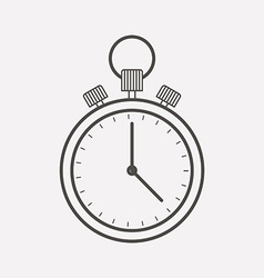 time counter icon vector image