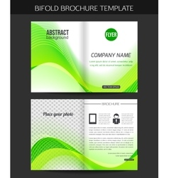 Corporate business stationery template abstract vector
