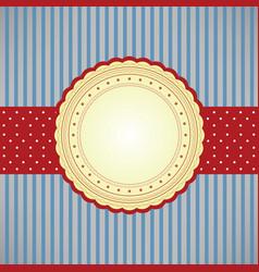 blank card vector image