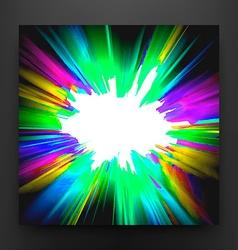 Colorful paint splatter background vector