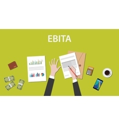 Counting ebita earnings before interest taxes vector