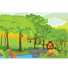 Lion vector image vector image