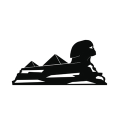 Sphinx icon simple style vector image vector image