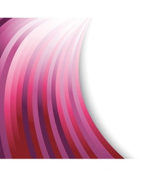 abstract violet waves vector image